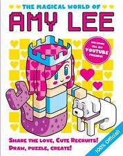 THE MAGICAL WORLD OF AMY LEE (2016) NEW HB book Youtube Friends Drawing Create