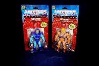 MASTERS OF THE UNIVERSE RETRO HE-MAN & SKELETOR  ACTION FIGURES 2020 MATTEL
