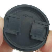 2pcs 46mm Plastic Snap On Front Lens Cap Cover For SLR DSLR Camera DVTOCA