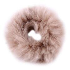 2017 Fashion Fluffy Faux Fur Furry Scrunchie Elastic Hair Ring Rope Band Tie HO