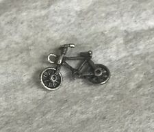Vintage Sterling Silver Moving Bicycle Charm