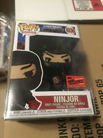 NYCC 2020 Official STICKER FUNKO POP! MOTU NINJOR #1036 + .50m Protector