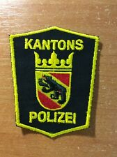 SWISS SWITZERLAND PATCH POLICE canton BERN - ORIGINAL