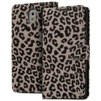 Leopard Flip Leather Wallet Stand Case Cover For Samsung Galaxy Note 3 III N9000