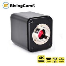 4K UHD 60fps HDMI USB WiFi GE port output SONY imx334 digital microscope camera