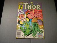 Thor #364 (1986, Marvel) 1st App Throg Newsstand READ
