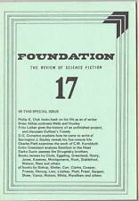 FOUNDATION REVIEW OF SCIENCE FICTION #17 - 1979 - Philip K. Dick, Fritz Leiber