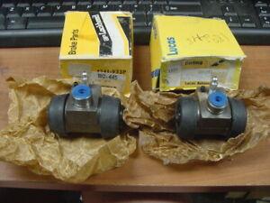"2 NOS Rear Wheel Cylinders MG Midget Austin Healey Sprite 7/8"" bore Late 948cc"