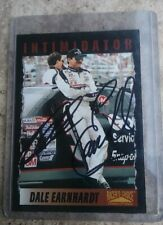 1996 Dale Earnhardt Sr Autographed Trading Card