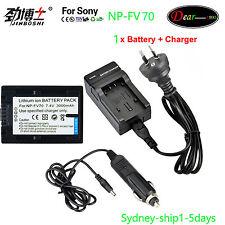 AC+1XNP-FV70 for Sony NP-FV70 NP-FV100 NP-FV30 NP-FV50 HDR CX HC PJ SR SX AUship