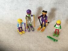 Playmobil 3684 Skiing Family Loose 100% Complete 1992
