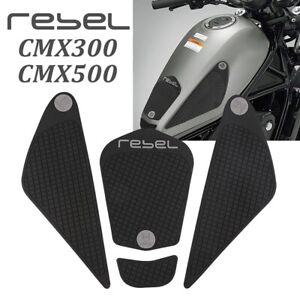 Tank Pad Gas Knee Grip Side Sticker For Honda CMX300 CMX500 REBEL300/500 4pc NEW