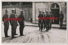WK2 Foto Saloniki Nachrichten-Schule Luftwaffe Beerdigung in Saloniki 2515