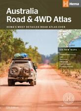 Australia Road and 4wd Atlas B4 Paperback Book
