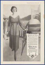 Vintage 1918 BETTY WALES Dresses Women's Fashion Print Ad