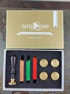 UNIQOOO Arts & Crafts Vintage Christmas Wax Seal Stamp