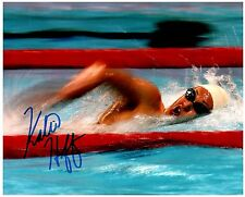 Katie Hoff Signed Autographed Team U.S.A. Olympic Swimming 8x10 Pic. A