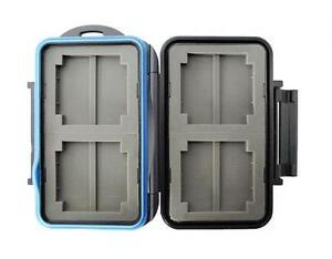 JJC MC-1 Rugged Waterproof Memory Card Case (4x CF / 8x MS PRO Duo)