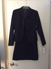 MODA International black dress suit size 6