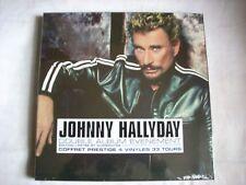 Johnny Hallyday A LA VIE A LA MORT coffret 4 33 tours vinyl-limité,numéroté,neuf