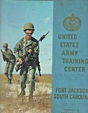 1967 Ft. Jackson Army Training Center Yearbook - NAMES LISTED! 1ST Batt. Co.A +