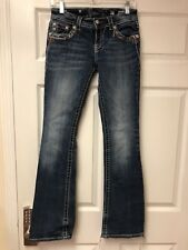 MISS ME MID RISE DESIGNER JEANS SIZE 27  FREE Shipping color 34 D Inseam 34
