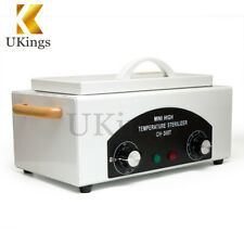 Dry Heat Sterilizer UV Cabinet UVC Disinfection Box for Nail Art Tools Salon