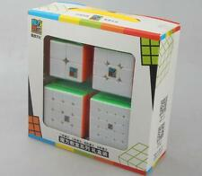 MoYu set of 2x2 3x3 4x4 5x5 twist puzzle Speed magic Cube Stickless Toy Gift