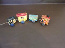 Vintage 1950's Fisher Price #215 Wooden Train Missing Engine