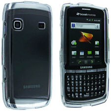 Clear Snap-On Hard Case Cover for Samsung Replenish M580