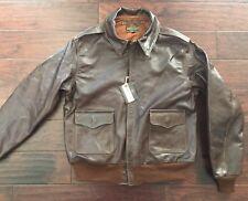 Eastman Leather Horsehide USAAF A-2 Flying Jacket, Roughwear Co. 27752 SZ 46