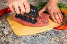 Professional Needle Meat Tenderizer Tool - 48 Sharp Stainless Steel Blades -