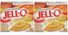 PUMPKIN SPICE  JELL-O Instant Pudding & Pie Filling 2 BOXES