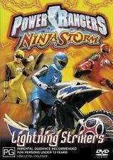 Power Rangers - Ninja Storm - Lightning Strikers (DVD, 2004)