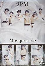 """2PM """"MASQUERADE - GROUP & INDIVIDUAL SHOTS"""" POSTER - K-Pop Music"""