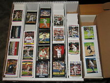 2008 Topps Baseball Base & Inserts Card Huge  Lot Approximately 1268 Cards