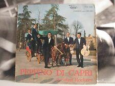 PEPPINO DI CAPRI E I SUOI ROCKERS 1961 LP FAIR COVER GOOD+