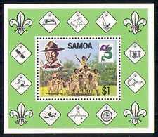 Samoa 1982 Scouts/Baden-Powell/Badges 1v m/s (n28001)