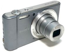 Sony Cyber-shot 20.1MP Digital Camera DSC-W810 w/ Charger & Extra Batt - Tested