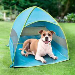 Pet Sun Shelter Keep Your Pet Cool And Comfortable For Outdoor Use - Blue