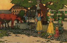 Rau, Olaf. Das Dorf in Bild und Wort. Nürnberg. Stroefer, EA 1906