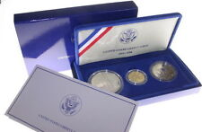 1986 US Mint Statue Of Liberty $5 Gold Silver $1 Half Proof Set