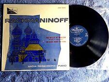 NADIA REISENBERG PIANO RACHMANINOFF WESTMINSTER XWN 18209