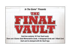 Novo na caixa 2015/16 Vault ITG The Final Trading Cards Nhl Hockey Hobby Caixa Selo De Fábrica