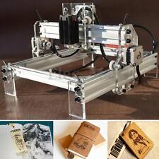 500mw Mini Desktop Laser Engraving Engraver Machine Kit DIY Cutter Logo Printer