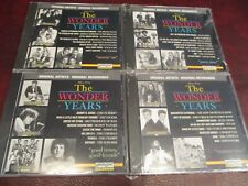 THE WONDER YEARS 4 SEALED CD SET 83-93 TV SERIES HIT TRACKS COCKER DONOVAN BERRY