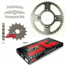Honda XR100R 85-04 JT Sprocket 15/50 Set and JT HDR Chain Kit Tooth More Speed