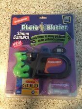Vintage Nickelodeon Photo Blaster 35mm Camera 1997 new in package neat photos
