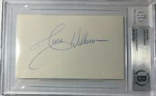 JUNE WILKENSON   HISTORIC AUTOGRAPHS LIMELIGHT SIGNATURES CELEBRITY AUTO BECKETT