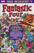 TRUE BELIEVERS Fantastic Four: Wedding of Reed and Sue #1 NM –MARVEL COMICS 2018